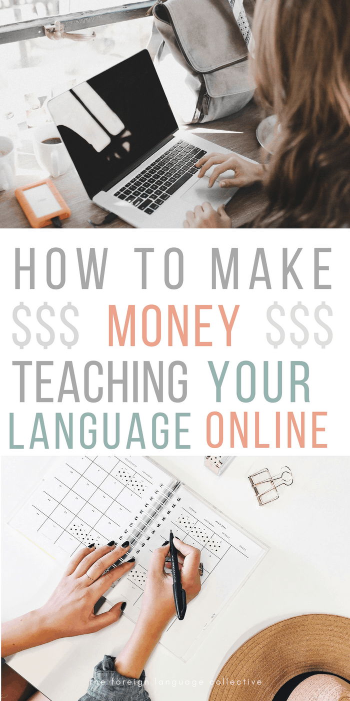 How To Make Money Teaching Languages Online